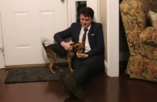 This man returned home after 2 years and got the best welcome ever from his dog