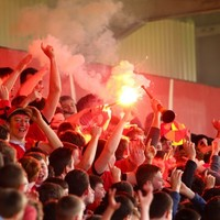 There were ultras in the stand as Musgrave Park hosted one of Irish rugby's best rivalries