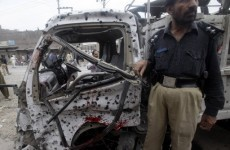 Female suicide bomber targets Pakistani police responding to attack