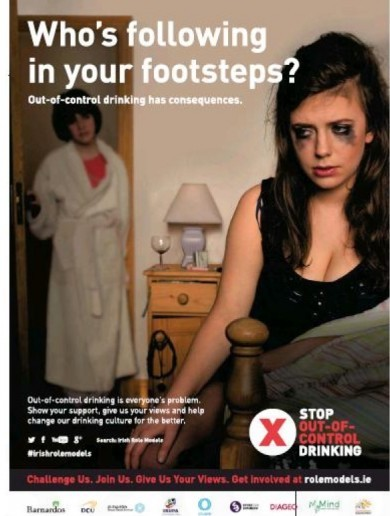 "The Rape Crisis Network says this ad ""blames victims of rape"", but those behind it say that's not true"