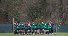 The 11 best images as Ireland are put through their final paces before heading to Wales
