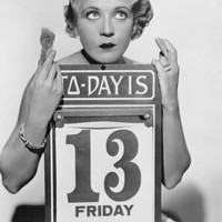 Poll: It's Friday 13th. Are you worried?