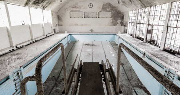 Photos of the abandoned Olympic Village built for the 1936 games in Nazi Germany will give you chills