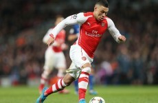 A blow for Arsenal as Oxlade-Chamberlain is ruled out for a month with hamstring injury