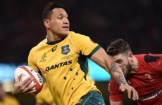As well as being a mind-bogglingly athletic freak, turns out Israel Folau is also a bit of a gent