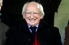It was a disappointing night for President Higgins and his beloved Galway at Dalymount