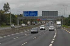 Husband dies and wife seriously injured after late night M50 crash