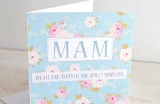 The 7 struggles of finding a Mother's Day Card with 'mam' on it