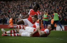 Giroud silences critics as Arsenal prepare for Monaco with convincing win