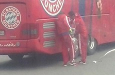 Bayern Munich forced to make pitstop as team bus breaks down on the way to game
