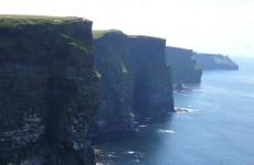Surfer winched to safety from base of Cliffs of Moher