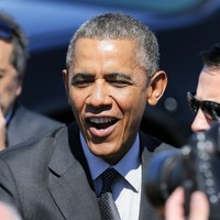 """""""I'm not saying I'm any funnier. I'm saying weed is now legal"""" - Obama plays joker-in-chief"""