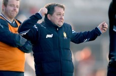 Davy Fitz: 'In Clare we do things properly, there's a code of discipline and that's it'