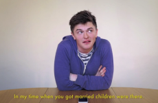 Irish students rang their Grannies for an honest chat about the marriage referendum