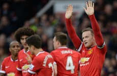 Rooney and Fellaini punish woeful Spurs as United consolidate fourth place