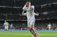 Ronaldo not happy after Gareth Bale scores for Real Madrid