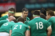 Schmidt pushes Ireland to look towards Scotland after defeat in Wales