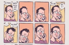 This comic sums up your annual Mother's Day phone call perfectly