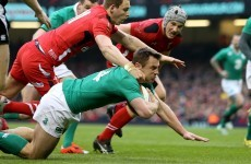 'I was close' - Ireland's Bowe agonisingly short of crucial try against Wales