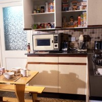 This hideous beige 1980s kitchen? It's now a museum piece