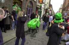 Enjoy St Patrick's Day? Think you'd like the job of cleaning up after it?