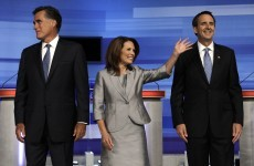 Pawlenty and Bachmann lead sparring in Republicans' Iowa debate