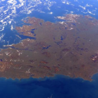Thank you, ISS astronaut, for the greenest pic of Ireland today