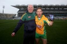 Two years ago, Ciarán McGrath suffered a horror leg break. Tonight he's an All-Ireland champ