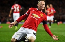 Rooney can continue to be a knock out up front