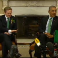 WATCH: Obama denied Enda's handshake and it was mortifying