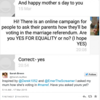 Irish people are having 'the chat' with their families about the marriage referendum and it's lovely