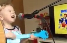 This adorable kid singing Ed Sheeran is all of us doing karaoke