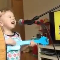 This adorable kid singing Ed Sheeran is all of us doing karaoke