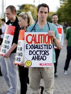 Ireland is overworking its junior doctors - and could face huge fines because of it