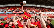 Celebrations for Cork's CBC as they lift Munster schools junior rugby cup