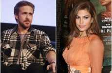 Ryan Gosling is grand with Eva Mendes wearing a tracksuit, actually