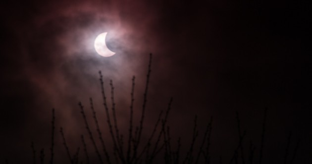 Pics: The solar eclipse, as captured by you