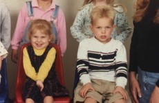 A guy found a picture of his girlfriend in playschool and realised they were in the same class