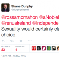 'A stupid mistake': Renua candidate does not actually think sexuality is a lifestyle choice