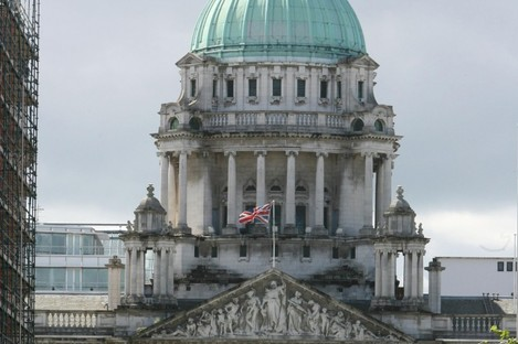 The City Hall in Belfast