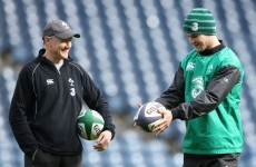 'I owe him a fair bit' - Joe Schmidt and Vern Cotter ready for chess match