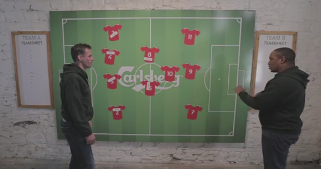 'No one likes Gary Neville': Ince & Carragher pick their best combined Liverpool/Man Utd XI