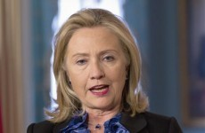 Clinton calls for global trade embargo on Syria