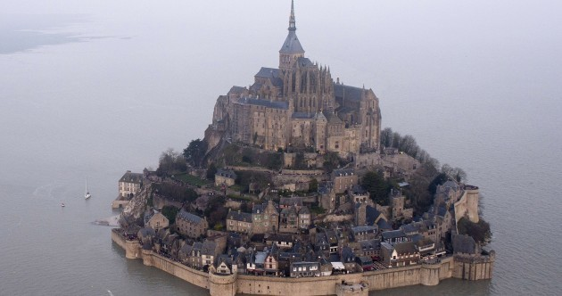 A 'supertide' has turned this French monastery into an island