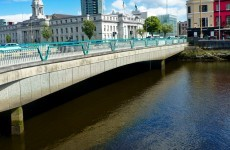 Man arrested after coming out from under Cork bridge