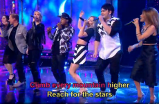 People were comparing S Club 7's Saturday Night Takeaway karaoke to Ireland's Six Nations win
