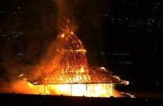 Pics: Why was this intricate wooden temple deliberately burned to the ground in Derry?