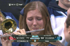 This extremely sad college piccolo player has sent the internet into a frenzy