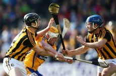 Kilkenny saw off Clare today but they're going to meet each other again in relegation final