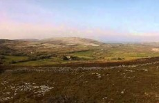This gorgeous bird's-eye view of the Burren will ease any semblance of Fear
